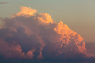 Thunderheads at Sunset