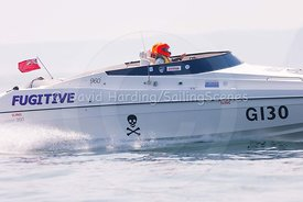 Fugitive, G130, Fortitudo Poole Bay 100 Offshore Powerboat Race, June 2018, 20180610320