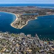 Edgartown, Looking East To Chappaquiddick Island, Martha's Vineyard