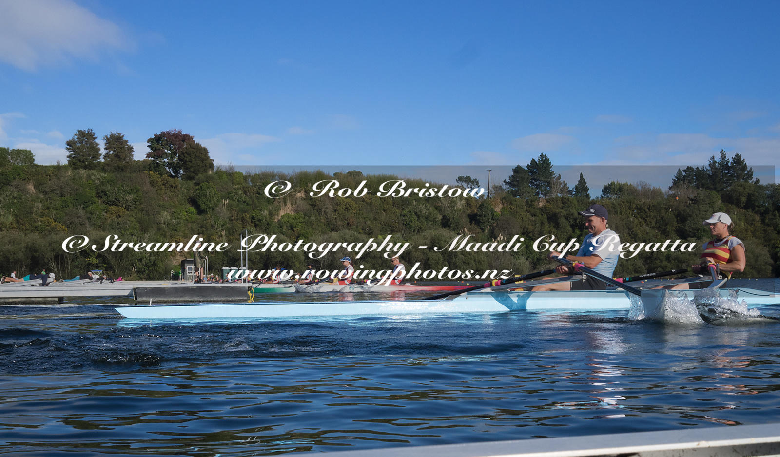 Taken during the World Masters Games - Rowing, Lake Karapiro, Cambridge, New Zealand; ©  Rob Bristow; Frame 1317 - Taken on: ...