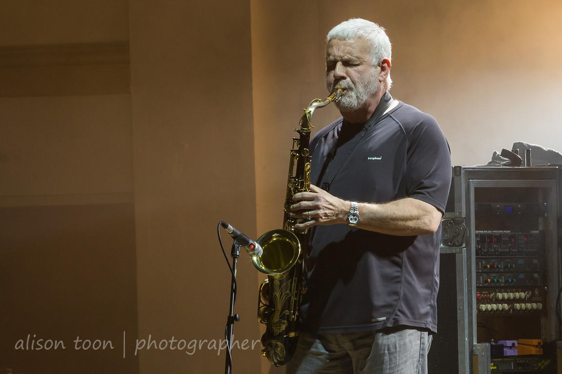 Phil Todd, saxophone, with Marillion