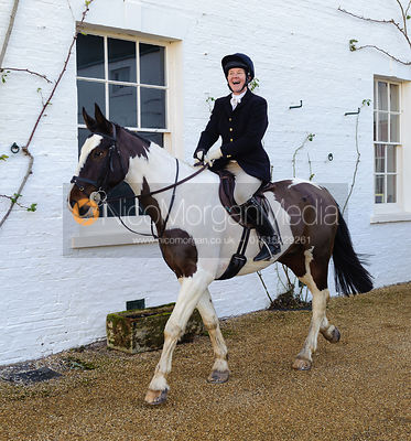Emma Taylor MFH - The Belvoir Hunt at Aswarby