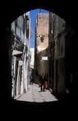 alley in the medina, Sfax, Tunisia