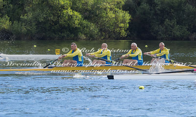 Taken during the World Masters Games - Rowing, Lake Karapiro, Cambridge, New Zealand; ©  Rob Bristow; Frame 428 - Taken on: T...