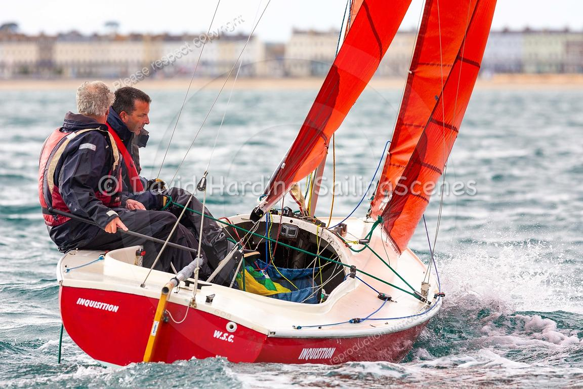 Inquisition, 608, Squib, Weymouth Regatta 2018, 20180908732.
