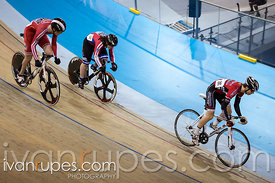 Junior Men Team Sprint. Ontario Track Provincial Championships, March 6, 2016