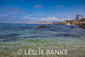 Seascape from Children's Pool in La Jolla