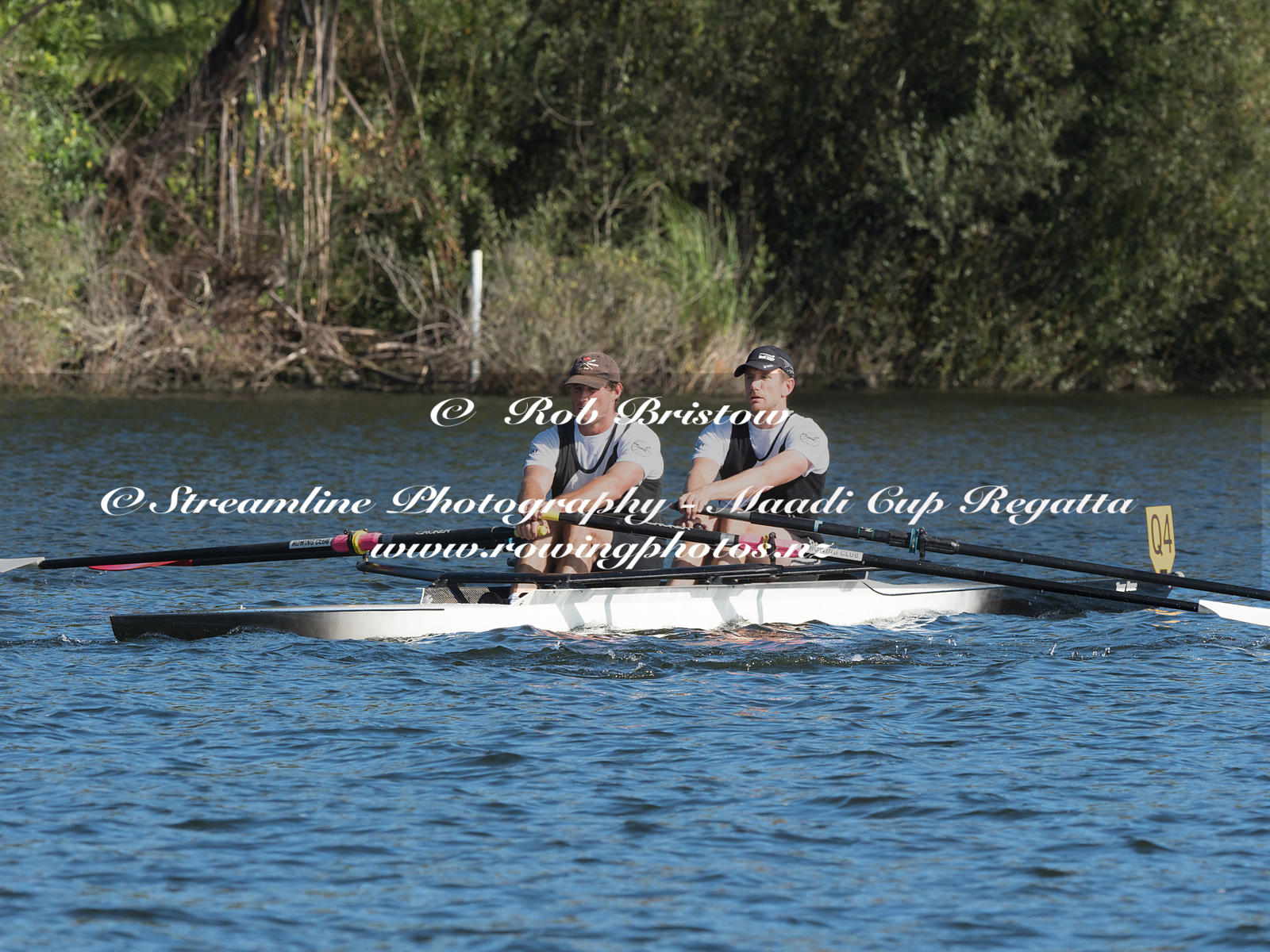 Taken during the World Masters Games - Rowing, Lake Karapiro, Cambridge, New Zealand; ©  Rob Bristow; Frame 3707 - Taken on: ...