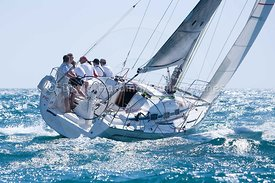 Firestarter, GBR 8560R, Bavaria 35 Match, 20130720063