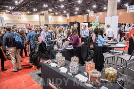 Large crowd at trade show