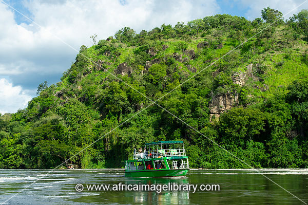 Boat trip on the Victoria Nile, Murchison Falls National Park, Uganda