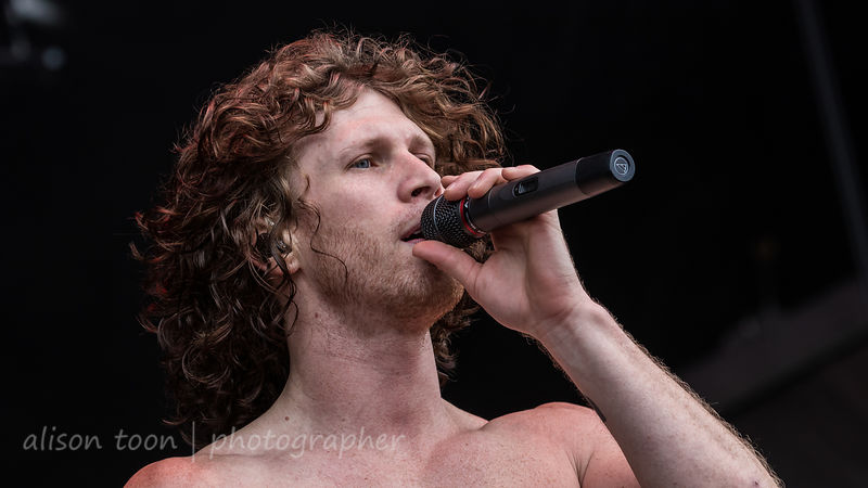 Jonny Hawkins, vocals and drums, Nothing More