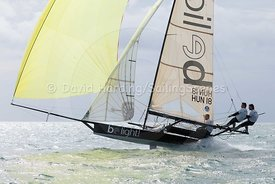 18ft Skiff European Grand Prix, Sandbanks, 20160904595