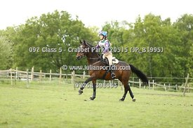 Crabbet Park Hunter Trial 17th May 2015