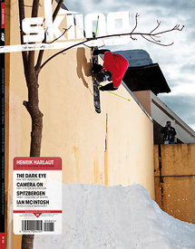 Cover shot Skiing Magazine - Sandy Collet