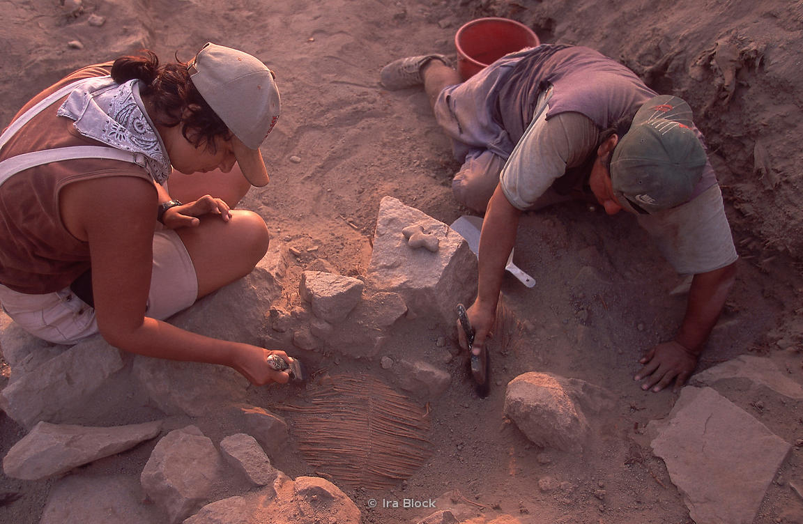 Archaeology graduate students