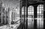 Project: The Piazza Duomo from the Arengario Balconi of the Palazzo dell'Arengario, Museo del 900 in Milan, Italy by Italo Ro...