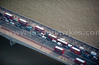Traffic on London Bridge