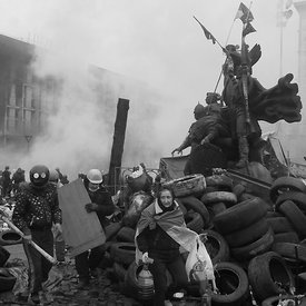 The Ukrainian revolution of February 2014.