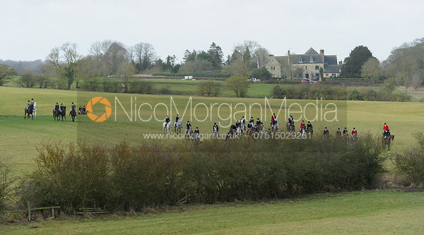 The Belvoir Hounds at Ingarsby Hall 3/2