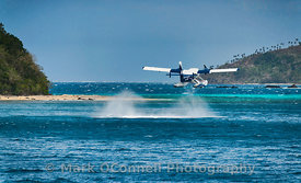 Sea Plane in the Pacific