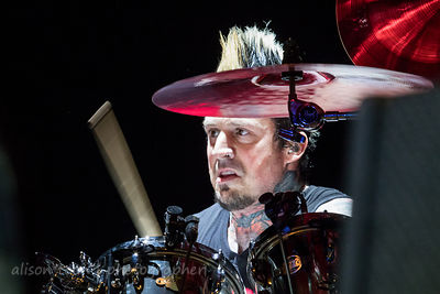 Jeremy Spencer, drums, Five Finger Death Punch