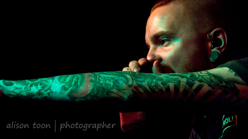 Matty Mullins, vocals, Memphis May Fire
