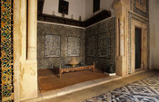 Dar Jellouli Museum, classic courtyard house in the medina, Sfax, Tunisia