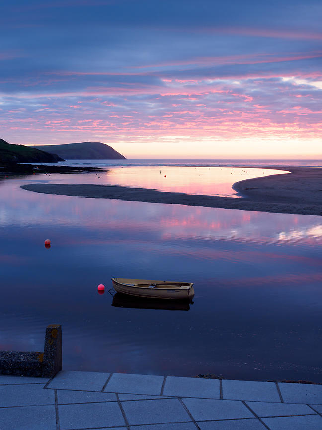 Sunset at The Parrog, Newport, Pembrokeshire