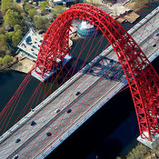 Monumental Bridges aerial photos