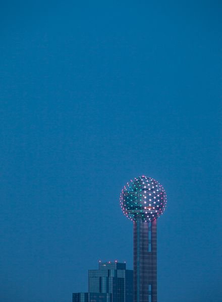 Reunion Tower from a Distance