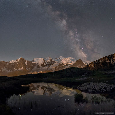 The Galaxy of the Mont-Blanc - Chamonix