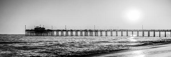 Orange County California Pier Panorama Picture