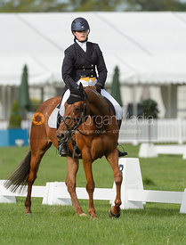 Alice Pegley and WESTON LARA - Rockingham International Horse Trials 2017