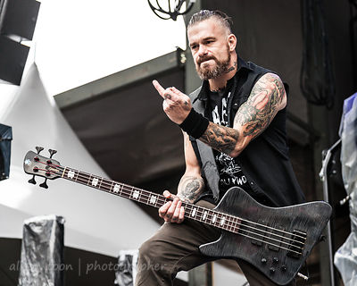 Jason Christopher, bass, Ministry