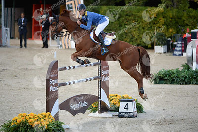Christian AHLMANN ,(GER), REAVNIR during Longines Cup of the City of Barcelona competition at CSIO5* Barcelona at Real Club d...