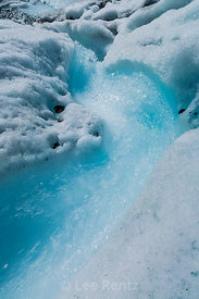 Glacial Stream on Matanuska Glacier