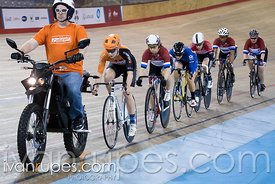 Women Keirin 1-6 Final. 2016/2017 Track O-Cup #3/Eastern Track Challenge, Mattamy National Cycling Centre, Milton, On, Februa...