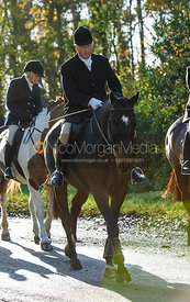 Kit Henson near Woolsthorpe. The Belvoir Hunt at the Kennels 13/11