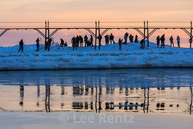 Photographing the Sunset at Grand Haven Lighthouse