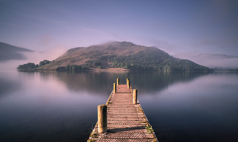 Island in the Lake - Lake District Photography