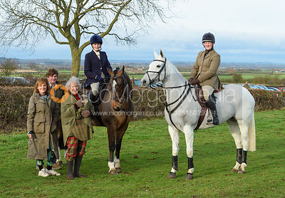 The Belvoir Hunt at Sheepwash 29/12