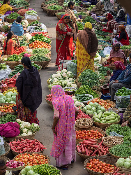 Udaipur Vegetable Market