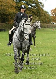 Hound Exercise with the Kent and Surrey Bloodhounds at Hurston Place Farm on Sunday 19th Oct 2014.