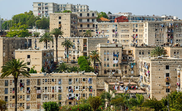 Housing in Algiers, Algeria, North Africa