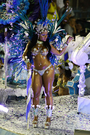 Flash light shooting Carnaval de Rio & Florianopolis