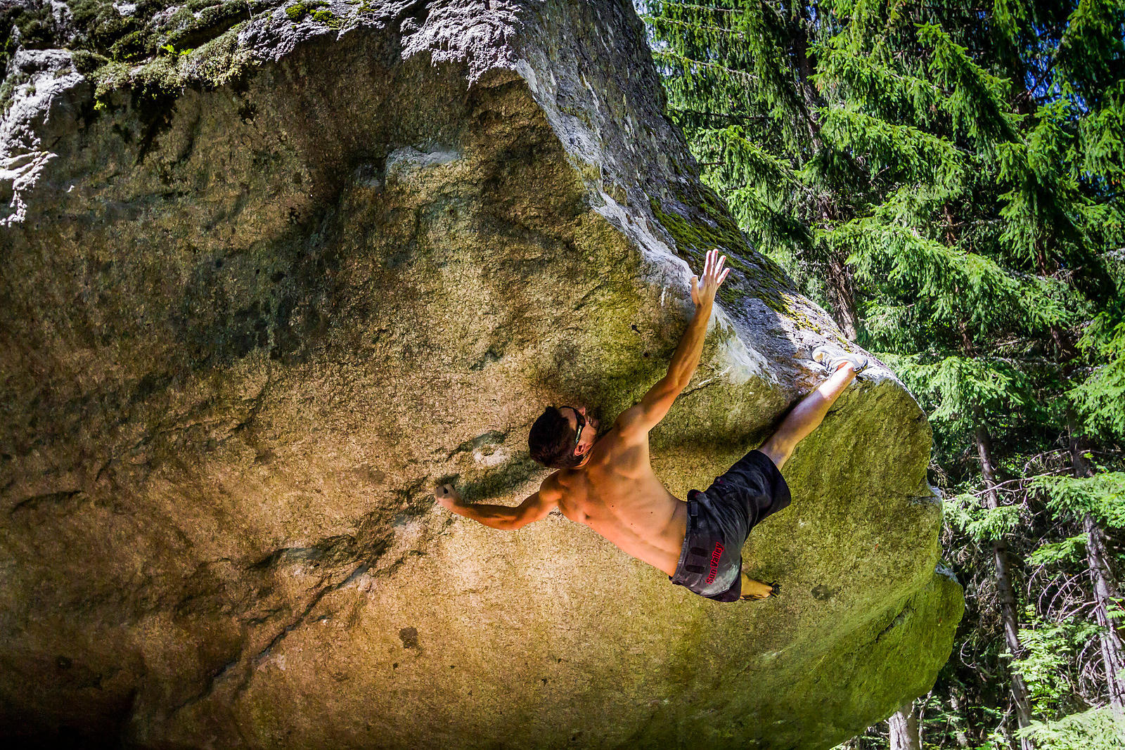 Boulder Climbing with Jerome Meyer
