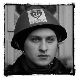 The Anonymous Heroes of The Ukraine Revolution 2014, Portraits of Ukrainian People in Kiev.