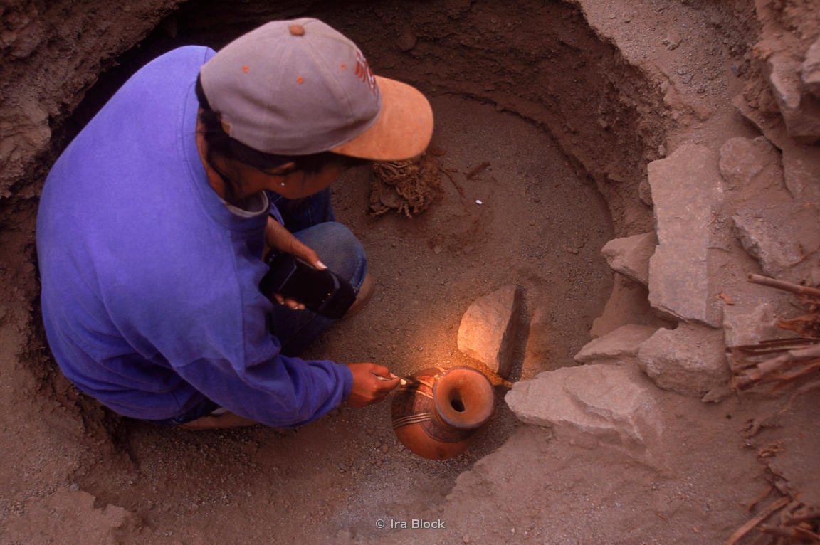 discovery of ancient pottery
