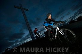 Park Wheelers at the Papal Cross, Phoenix Park
